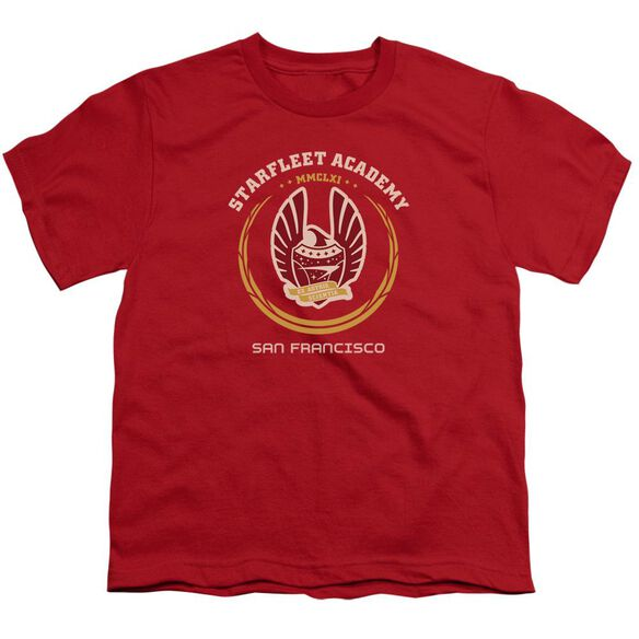 Star Trek Academy Heraldry Short Sleeve Youth T-Shirt