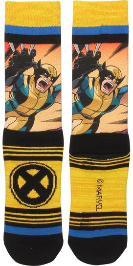 Wolverine Attack Crew Socks