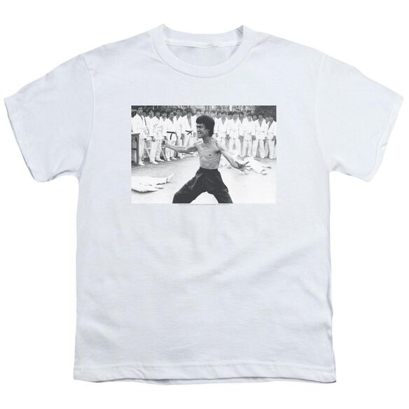 Bruce Lee Triumphant Short Sleeve Youth T-Shirt