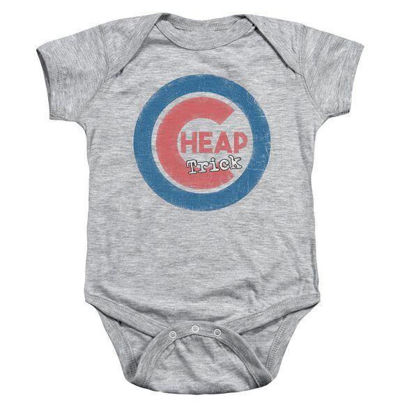 Cheap Trick Cheap Cub Infant Snapsuit Athletic Heather