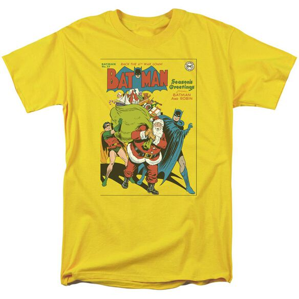 Dc Cover No. 27 Short Sleeve Adult Yellow T-Shirt