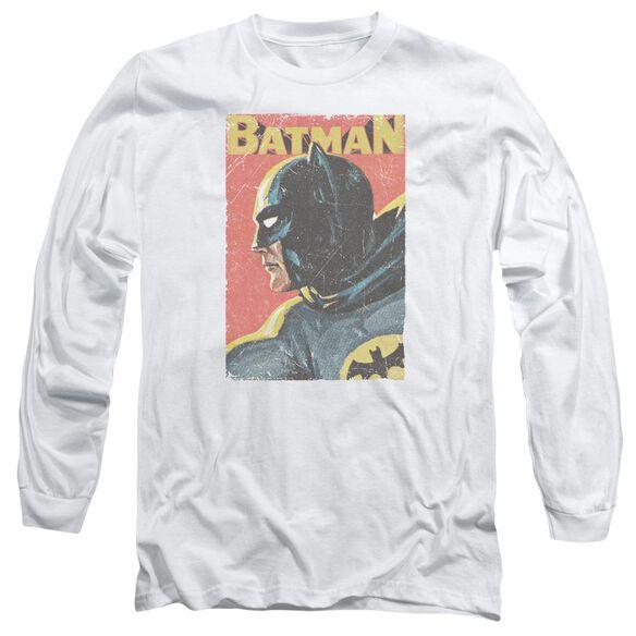 Batman Classic Tv Vintman Long Sleeve Adult T-Shirt