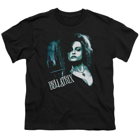 Harry Potter Bellatrix Closeup Short Sleeve Youth T-Shirt