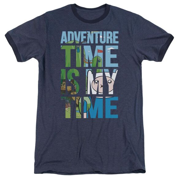 Adventure Time My Time Adult Ringer Navy