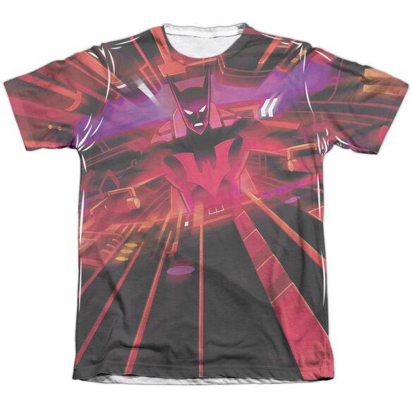 Batman Beyond Batmobile Interior Adult Poly Cotton Short Sleeve Tee T-Shirt