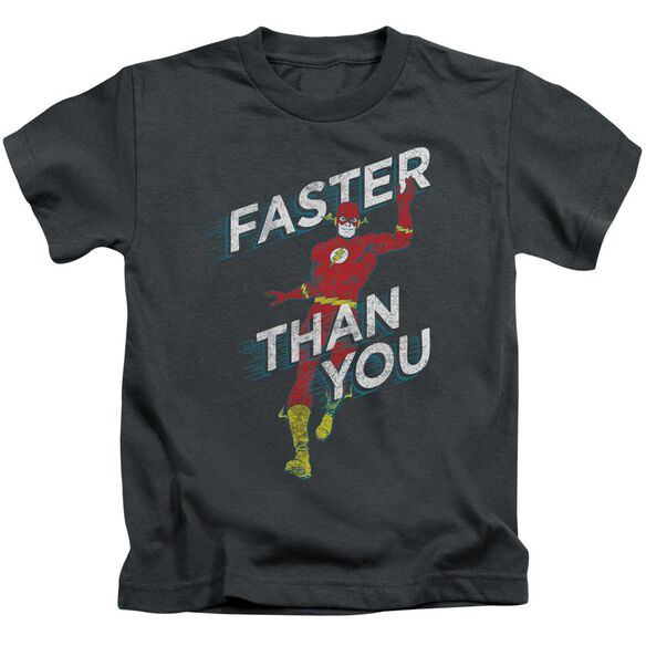 Dc Faster Than You Short Sleeve Juvenile T-Shirt