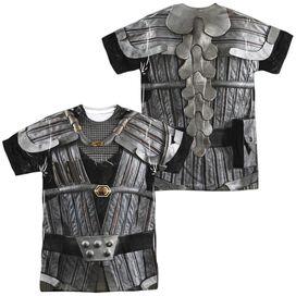 Star Trek Klingon Uniform (Front Back Print) Short Sleeve Adult Poly Crew T-Shirt
