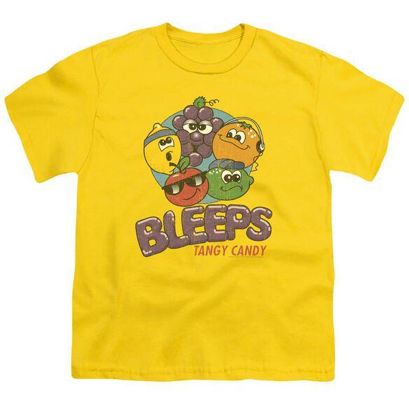 Dubble Bubble Bleeps Short Sleeve Youth T-Shirt