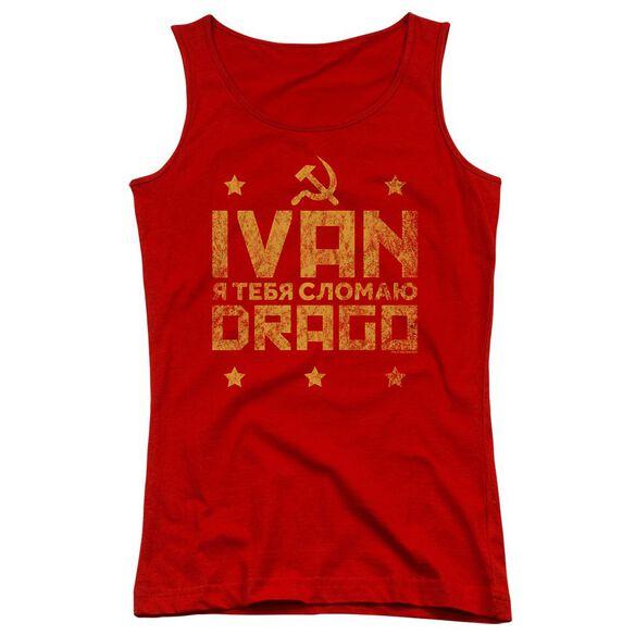 Rocky Iv Drago Break Juniors Tank Top
