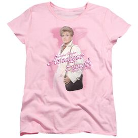 MURDER SHE WROTE AMATEUR SLEUTH - S/S WOMENS TEE - PINK T-Shirt
