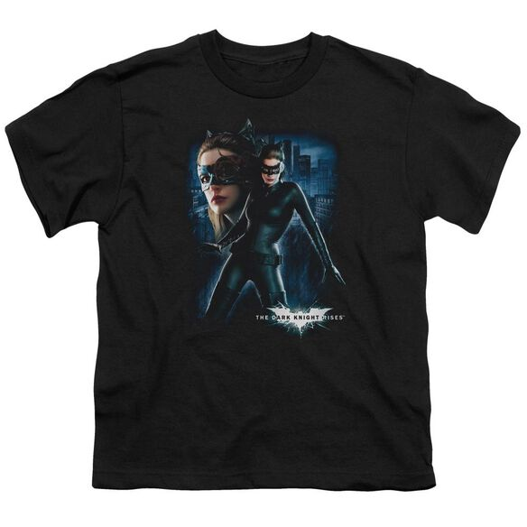 Dark Knight Rises Catwoman Short Sleeve Youth T-Shirt