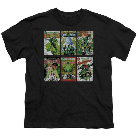 Green Lantern Gl Covers Short Sleeve Youth T-Shirt