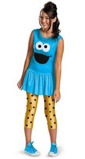 Sesame Street Cookie Monster Tween Costume