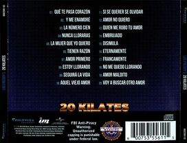 Los Freddy's - 20 Kilates