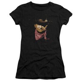 John Wayne Splatter Short Sleeve Junior Sheer T-Shirt