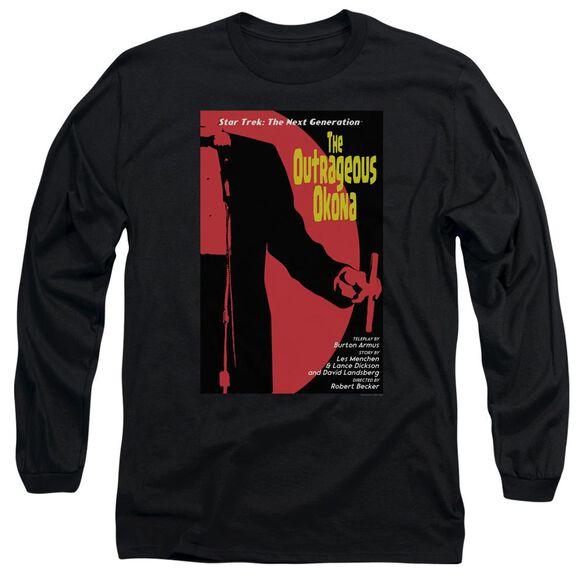 Star Trek Tng Season 2 Episode 4 Long Sleeve Adult T-Shirt