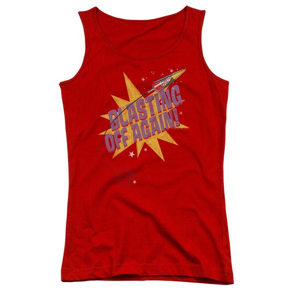 Astro Pop Blast Off Juniors Tank Top
