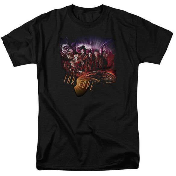 Farscape Graphic Collage Short Sleeve Adult T-Shirt