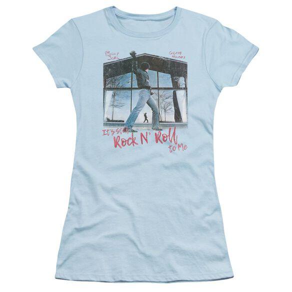 Billy Joel Glass Houses Short Sleeve Junior Sheer Light T-Shirt