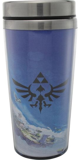 Zelda Fight Pose Travel Mug