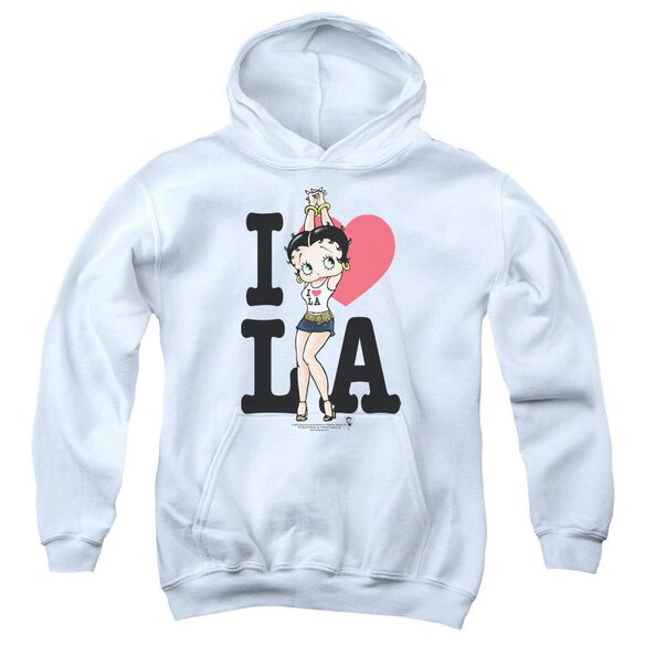 Betty Boop I Heart La Youth Pull Over Hoodie