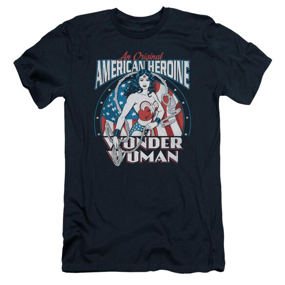 Dc American Heroine Short Sleeve Adult T-Shirt