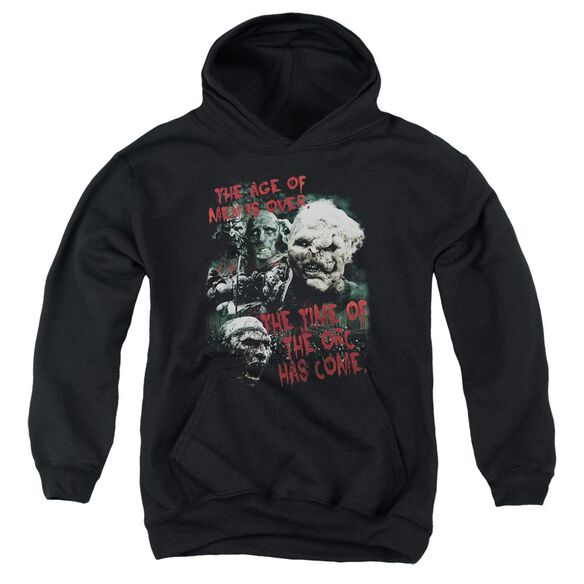 Lor Time Of The Orc Youth Pull Over Hoodie
