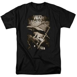 War Of The Worlds Death Rays Short Sleeve Adult T-Shirt
