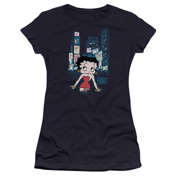 Betty Boop Square Premium Bella Junior Sheer Jersey