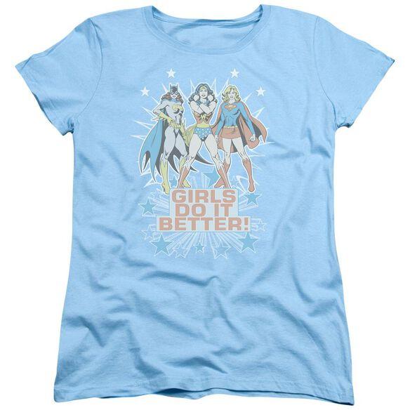 Dc Girls Do It Better Short Sleeve Womens Tee Light T-Shirt