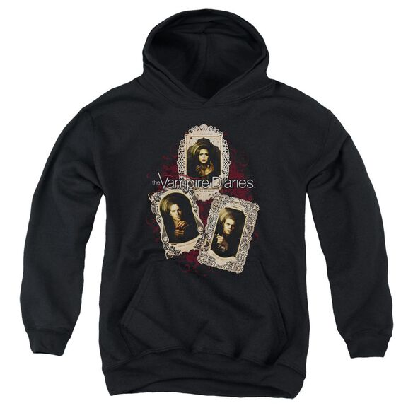Vampire Diaries Holy Cards Youth Pull Over Hoodie