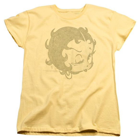 Betty Boop Hey There Short Sleeve Womens Tee T-Shirt