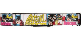 Batgirl Faces Square Seatbelt Belt