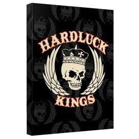 Hardluck Kings Pattern Quickpro Artwrap Back Board