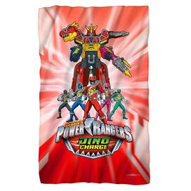 Power Rangers Dino Ranger Fleece Blanket