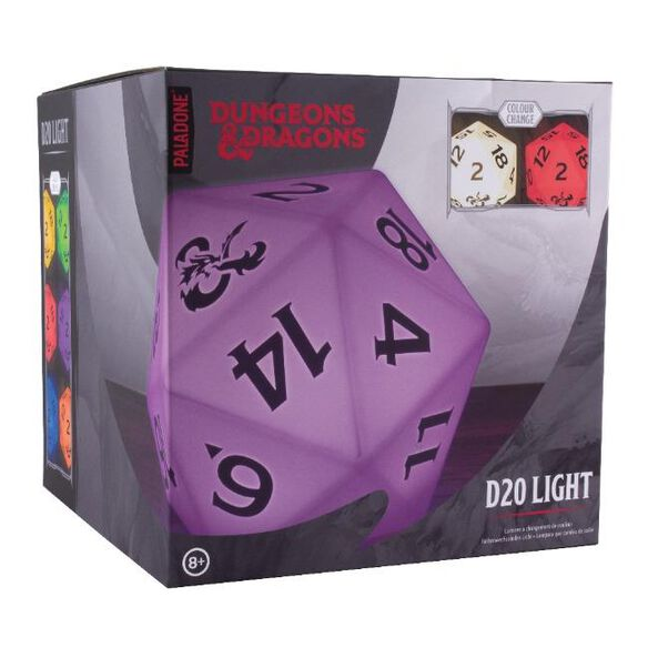 Dungeons & Dragons D20 Color Changing Light