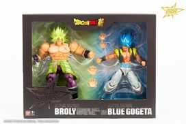 Dragon Ball Super Dragon Stars - Broly vs Blue Gogeta [SDCC 2019 Exclusive]