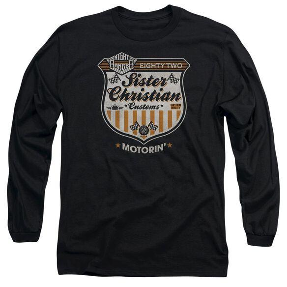 Night Ranger Motorin Long Sleeve Adult T-Shirt