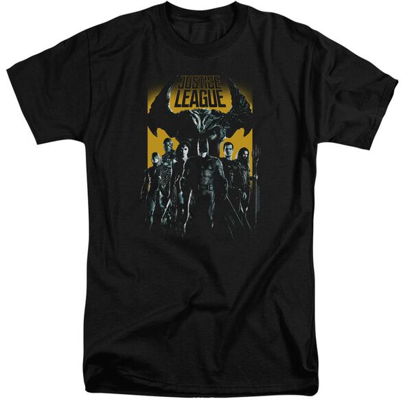 Justice League Movie Stand Up To Evil Short Sleeve Adult Tall T-Shirt