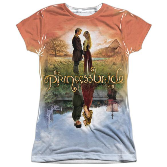 Princess Bride Poster Sub Short Sleeve Junior Poly Crew T-Shirt