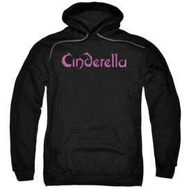 Cinderella Logo Rough Adult Pull Over Hoodie
