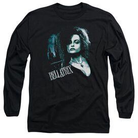 Harry Potter Bellatrix Closeup Long Sleeve Adult T-Shirt
