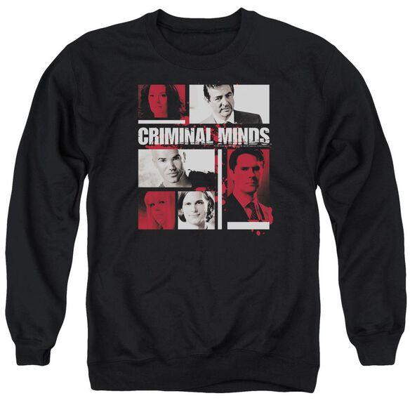 Criminal Minds Character Boxes Adult Crewneck Sweatshirt