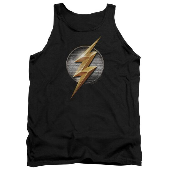 Justice League Movie Flash Logo Adult Tank
