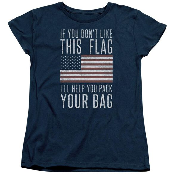 Pack Your Bag Short Sleeve Womens Tee T-Shirt