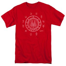 Bsg Colonies Short Sleeve Adult Red T-Shirt