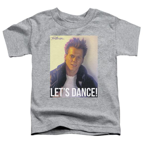 Footloose Lets Dance Short Sleeve Toddler Tee Athletic Heather T-Shirt