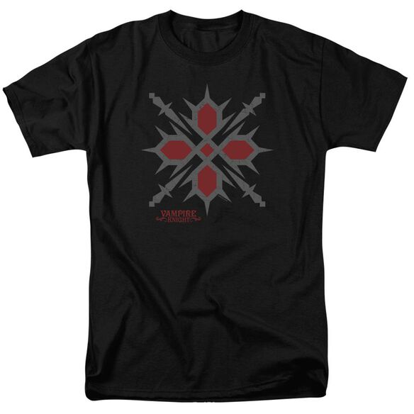 Vampire Knight Hunter Symbol Short Sleeve Adult T-Shirt
