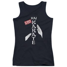 Hai Karate Be Careful Juniors Tank Top