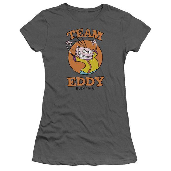 Ed Edd N Eddy Team Eddy Short Sleeve Junior Sheer T-Shirt